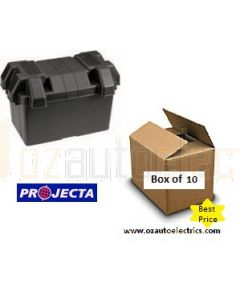 Projecta Large Battery Box - 410L x 250W x 260H (Bulk 10)