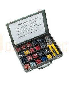 Quikcrimp Quik-Kit Insulated Terminals Assortment with HT0560 Crimp Tool