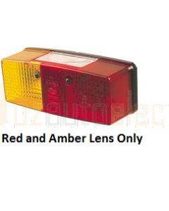 Red and Amber lens