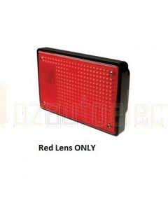 Hella 9.2319.01 Red Lens to suits Hella 2319, 2402/03 & 2416/17