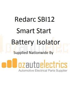 Redarc SBI12 Smart Start Battery Isolator 12V 100A