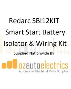 Redarc SBI12KIT Smart Start Battery Isolator & Wiring Kit