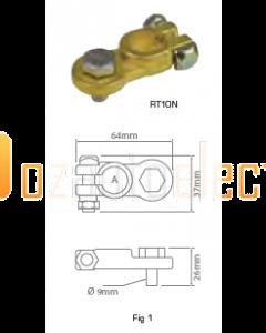 Ionnic RT10/P 17mm Bolt Battery Terminal - Positive