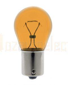 Hella RY2421LL Long Life Turn Signal Globe Amber (Single Globe)