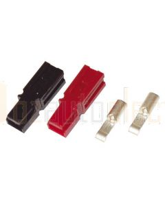 Anderson Powerpole PP75 75A Red & Black Kit with 6AWG Contacts