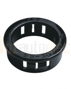 Quikcrimp Nylon Snap Bushings - 14.3mm, 18.9mm mounting hole