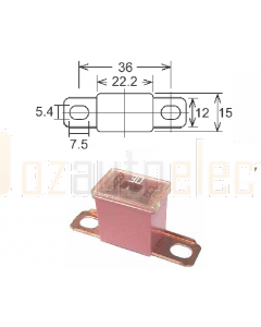 Pal Fuses Male Bent Terminal Small SBF030 Link 30A 32VDC