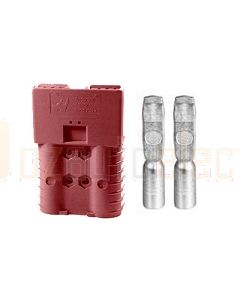 Anderson Touch Safe 2 Pole Connector Brown