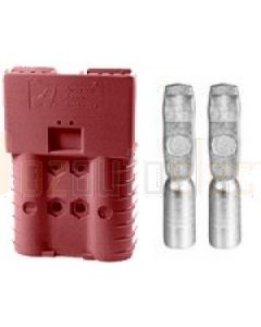Anderson SBS50BRN Touch Safe 2 Pole Connector Brown