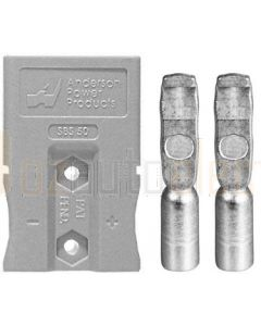 Anderson SBS50GRA Touch Safe 2 Pole Connector (Gray)