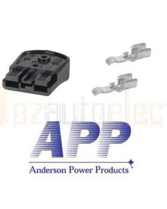 Anderson B02265G2 SBS Mini Connector Assembly - Black