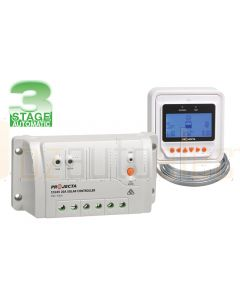 Projecta SC320D 3 Stage Automatic 12/24V 20A Solar Charge Controller with Remote Meter