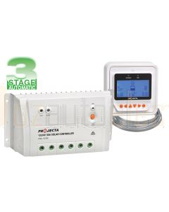 Projecta SC330D 3 Stage Automatic 12/24V 30A Solar Charge Controller with Remote Control