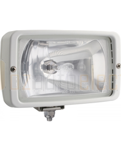 HELLA Halogen 7118 Series Floodlights (12V Ice White - Clear Lens)