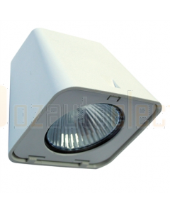Hella 1GA998506001 Halogen 8506 Series Spreader Floodlight (12V White Housing)
