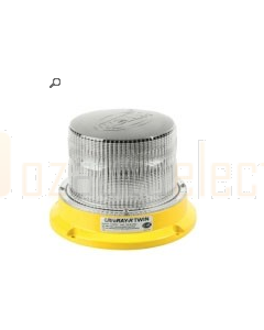 Hella Beacon Magnetic Mount LED Rotating/Flash White UltraRAY Twin