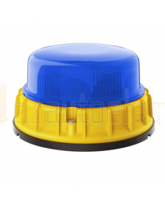 Hella K-LED Mining Series Beacon, Blue - Direct Mount