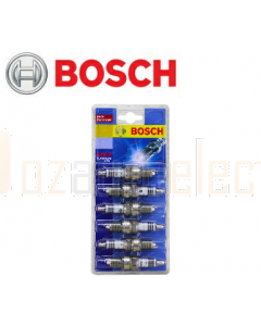 Bosch 0242235974 Platinum Plus Spark Plugs HR7DPX P21-6 Set of 6 to suit Holden VT Commodore 3.8L Supercharged