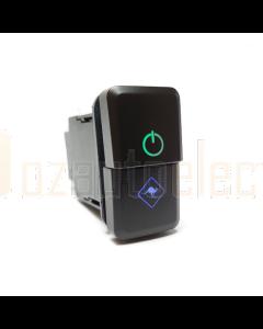 Lightforce CBSWTY2D Dual Function Momentary Switch (inc Hilux/Prado/Ranger PXII)
