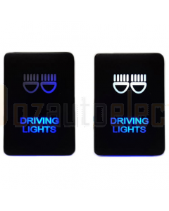 Lightforce CBSWTY2DL LED On Off Switch with Driving Lights Symbol