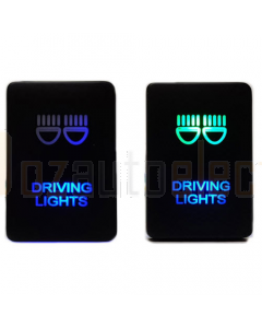 Lightforce CBSWTY2HD LED Switch with Driving Lights Symbol