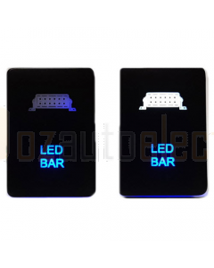 Lightforce CBSWTY2L Positive Switched with LED Bar Symbol