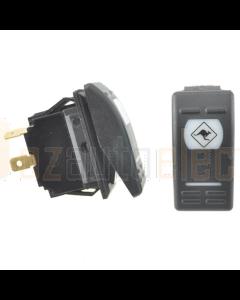 Lightforce Universal Momentary Winch Rocker Switch 16 Amp 12V