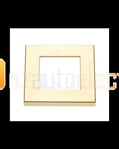 Hella Square Courtesy Lamp Gold Plated Plastic Rim