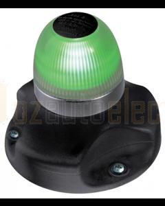 Hella 2LT980910301 2 NM BSH NaviLED 360 All Round Green Navigation Lamp (Surface Mount - Black Base)
