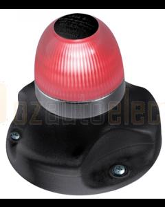 Hella 2LT980910501 2 NM BSH NaviLED 360 All Round Red Navigation Lamps (Surface Mount - Black Base)