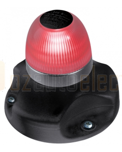 Hella 2LT980910401 2 NM NaviLED 360 All Round Red Navigation Lamps (Surface Mount - Black Base)