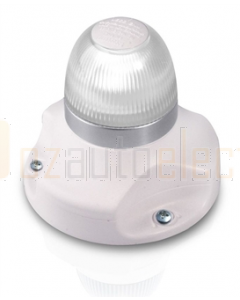 Hella 2LT980910111 2 NM BSH NaviLED 360 All Round White Navigation Lamps (Surface Mount - White Base)