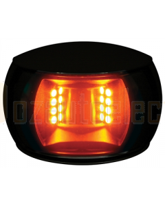 Hella 2LT980520601 2 NM NaviLED Towing Navigation Lamp Black Shroud - Amber Lens (120mm Cable)