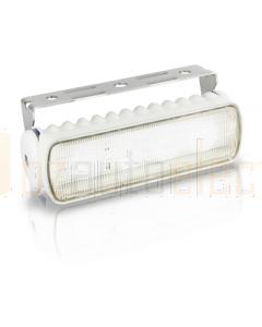 Hella 2LT980573021 Sea Hawk-R Spread LED Floodlight (White Housing)