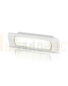 Hella 2LT980577011 Sea Hawk-R Spread LED Floodlight - Recess Mount (White Housing)