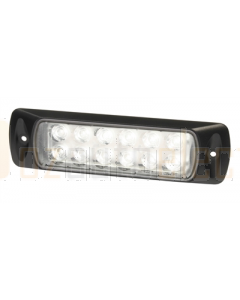 Hella 2LT980747001 Sea Hawk LED Floodlights - Recess Mount (Spot Light, Black Housing)