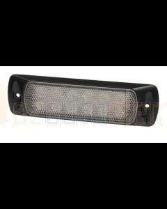 Hella 2LT980747101 Sea Hawk LED Floodlights - Recess Mount (Spread Light, Black Housing)