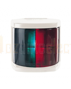 Hella 2852W, 2 NM Bi-Colour Navigation Lamp - White Housing (12V)