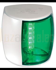 Hella 2LT959908511 2 NM BSH NaviLED PRO Starboard Navigation Lamp (White Shroud - Green Lens)