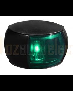 Hella 2LT980520231 2 NM NaviLED Starboard Navigation Lamp (Black Shroud- Coloured Lens (2.5m Cable))