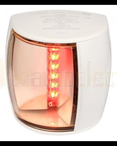 Hella 2LT959900611 2 NM BSH NaviLED PRO Port Navigation Lamp (White Shroud - Ultra Heavy Duty Lens)