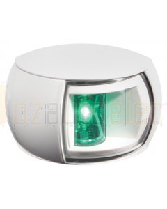 Hella 2LT980520361 2 NM NaviLED Starboard Navigation Lamp (White Shroud- Clear Lens (2.5m Cable))
