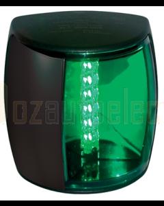 Hella 2LT959908201 3 NM NaviLED PRO Starboard Navigation Lamp (Black Shroud - Green Lens)