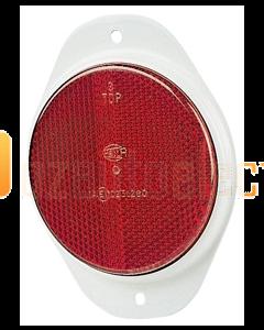Hella 2910 Retro Reflector - Red