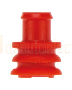 TE Connectivity 282081-1/100 Superseal Series Red Female Cavity Plug Pack of 100