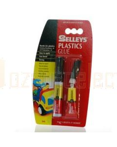 Aerpro SEL02 Two Part Plastics Glue 3ml