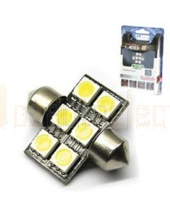 Aerpro SMD96G 6 X SMD LED 31mm Festoon Green