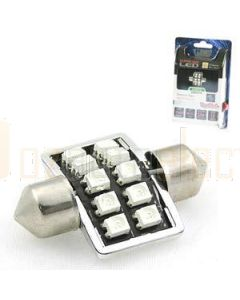 Aerpro SMD97G 10 SMD LED 31mm Festoon Green