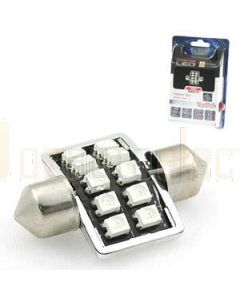 Aerpro SMD97R 10 SMD LED 31mm Festoon Red