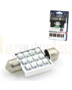 Aerpro SMD98G 12 SMD LED 36mm Festoon Green
